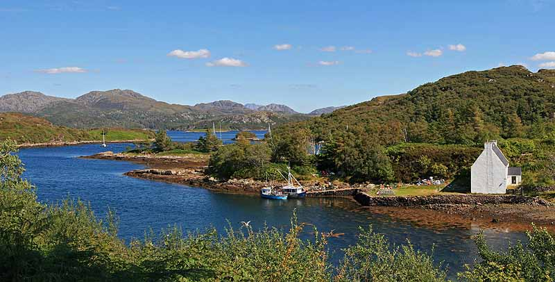 Badachro Bay and Gairloch